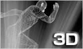 動きに対応する3Dデザイン イメージ
