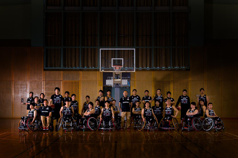 日本車いすバスケットボール連盟と契約締結